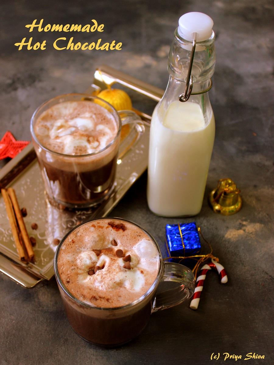 homemade hot chocolate recipe