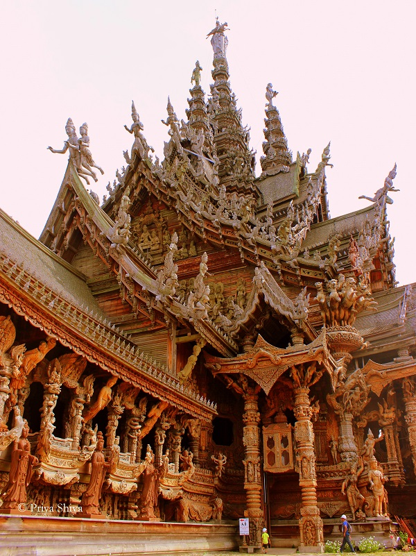 Sanctuary of truth pattaya