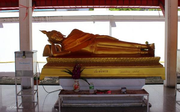 Wat Chaimongkron royal monastery pattaya