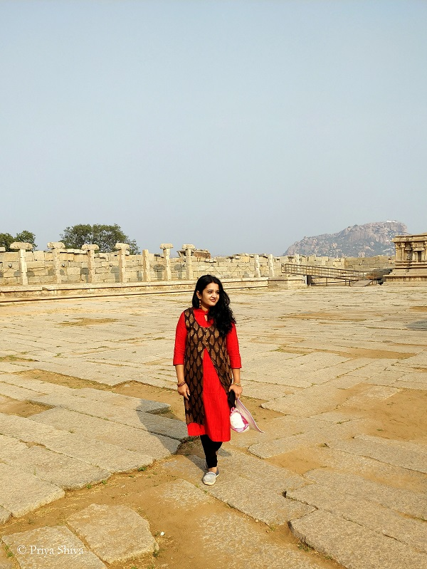 priya shiva at Hampi