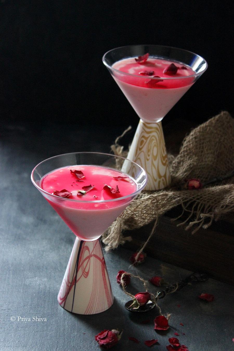 rose pudding recipe