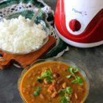 rajma coconut curry