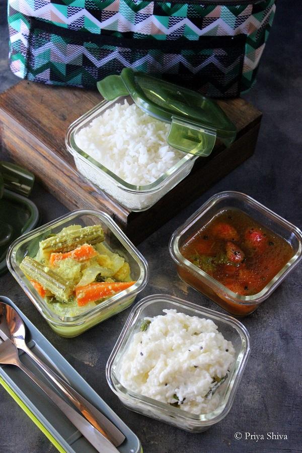 Homepuff Borosilicate Glass Lunch Box