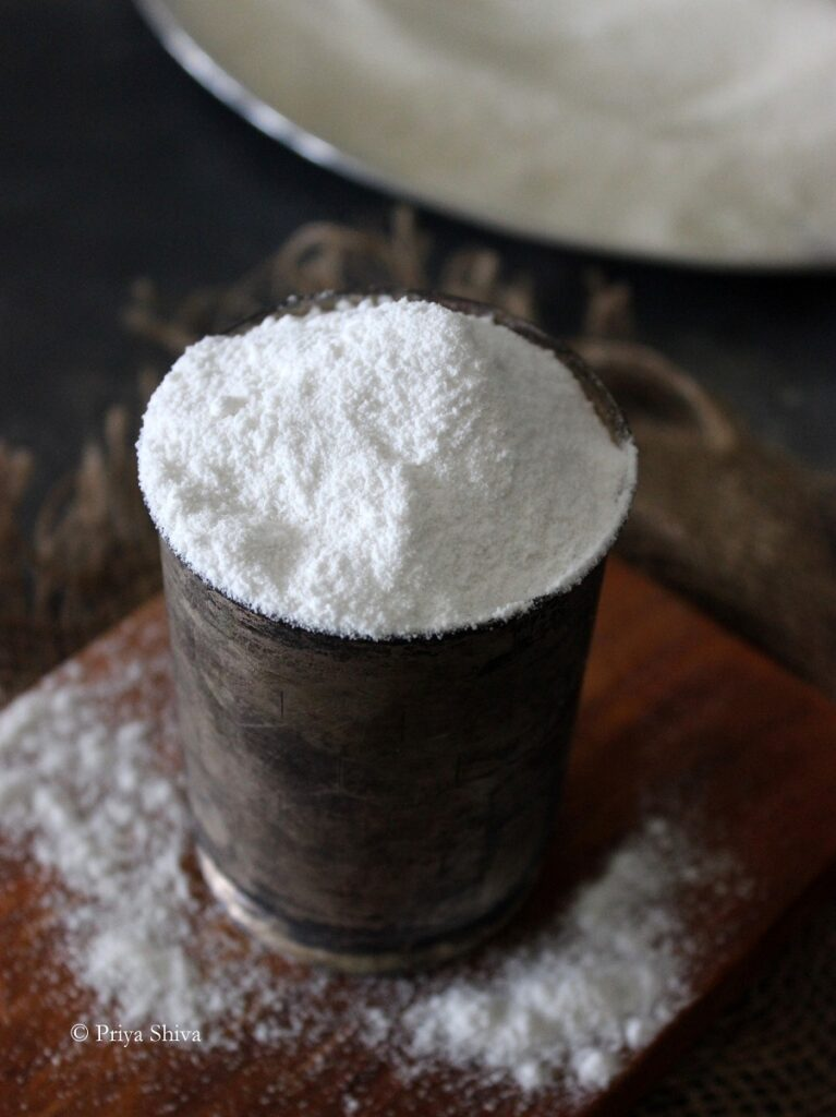 how to make rice flour at home