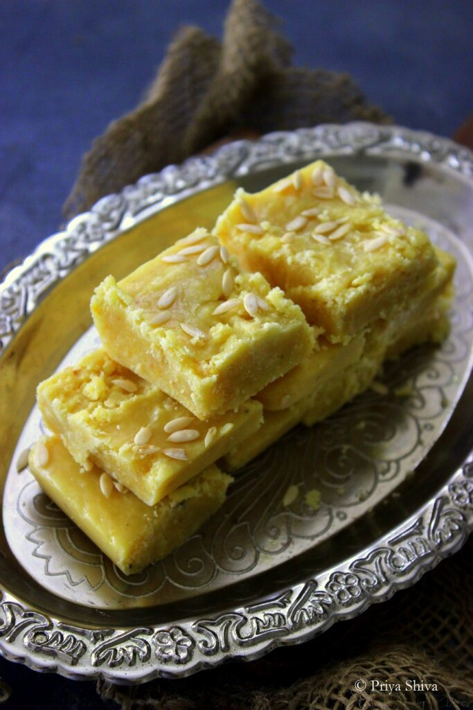 7 cup burfi recipe