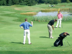 A low putting average may be a by-product of poor approach play