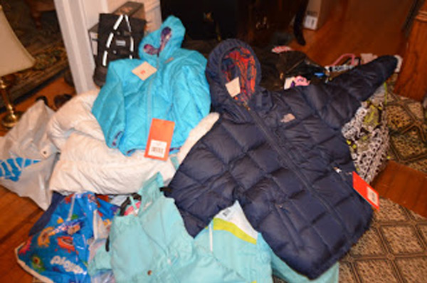 New Coats Brought to Make A Difference Day Event