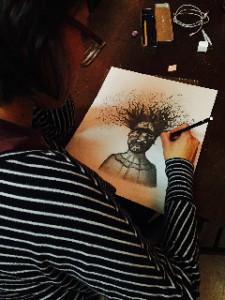 Juliana Drawing WEB
