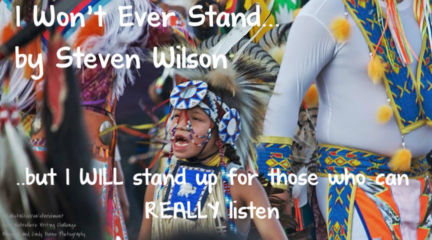 Wacipi Stand Message