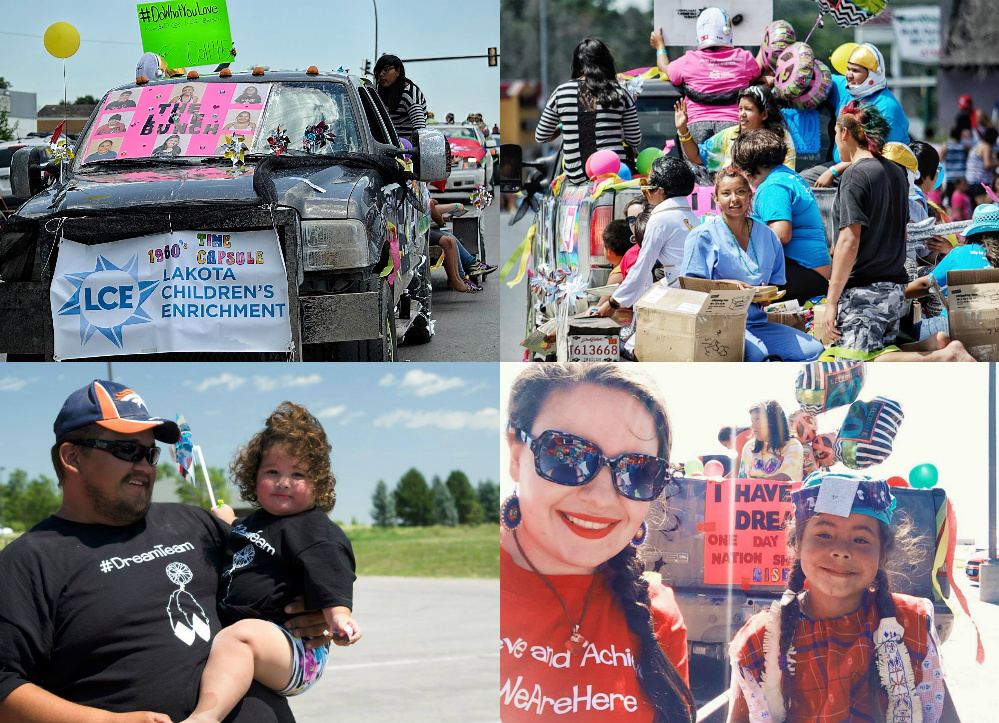 LCE Float  Collage