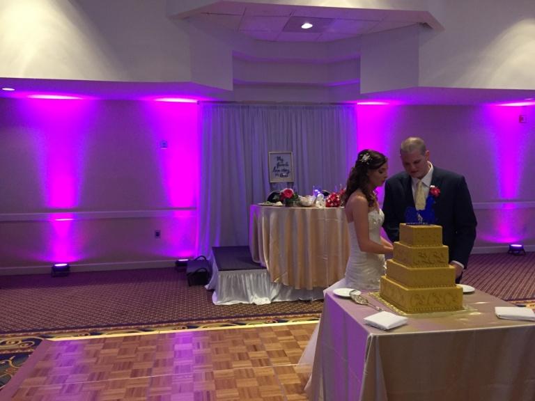 PEABODY marriott weddings, peabody wedding dj, uplighting for weddings, wireless uplighting, northshore djs, northshore wedding dj, boston wedding dj, coolcity dj service