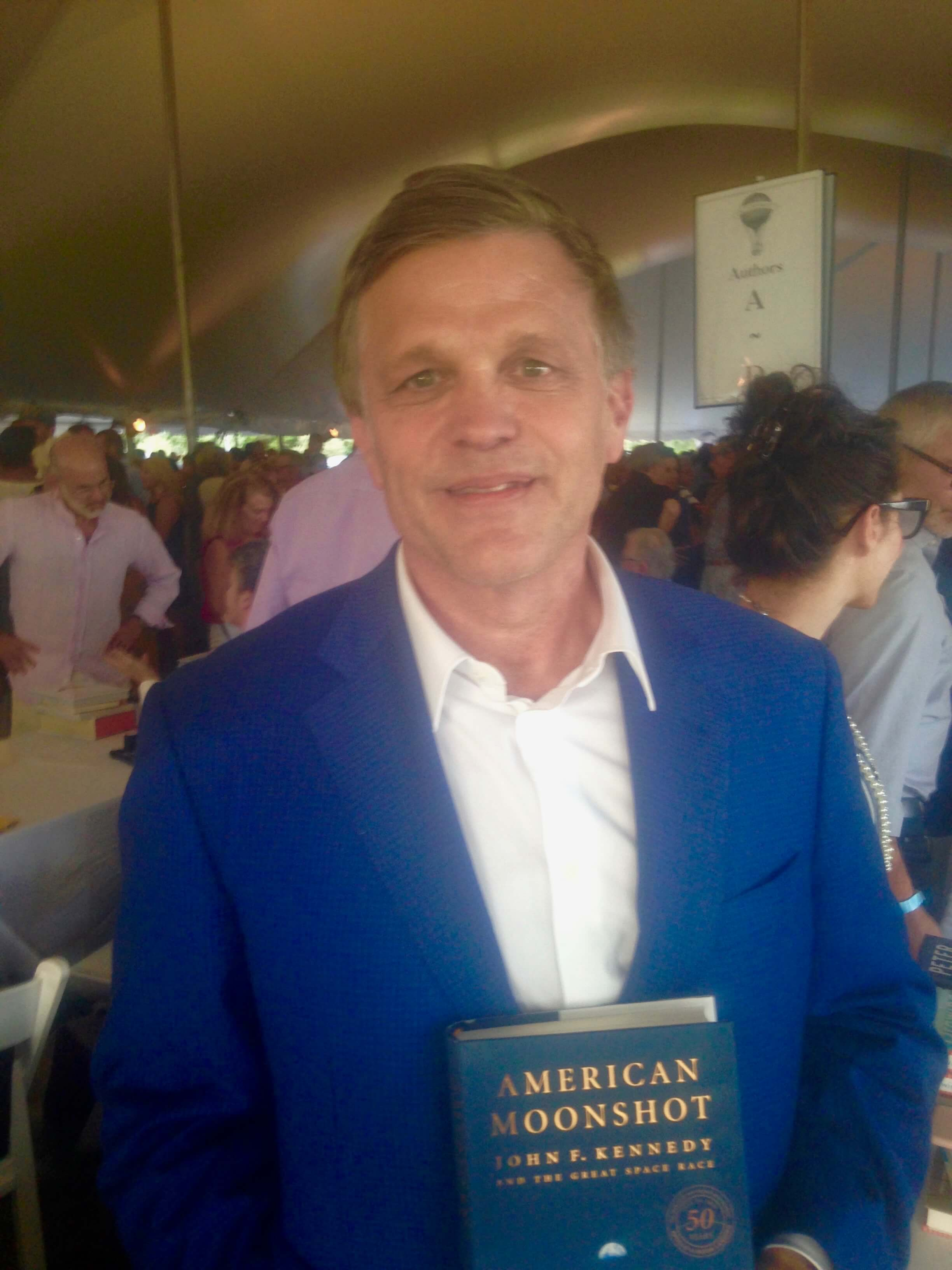 Douglas Brinkley East Hampton Author's Night 2019