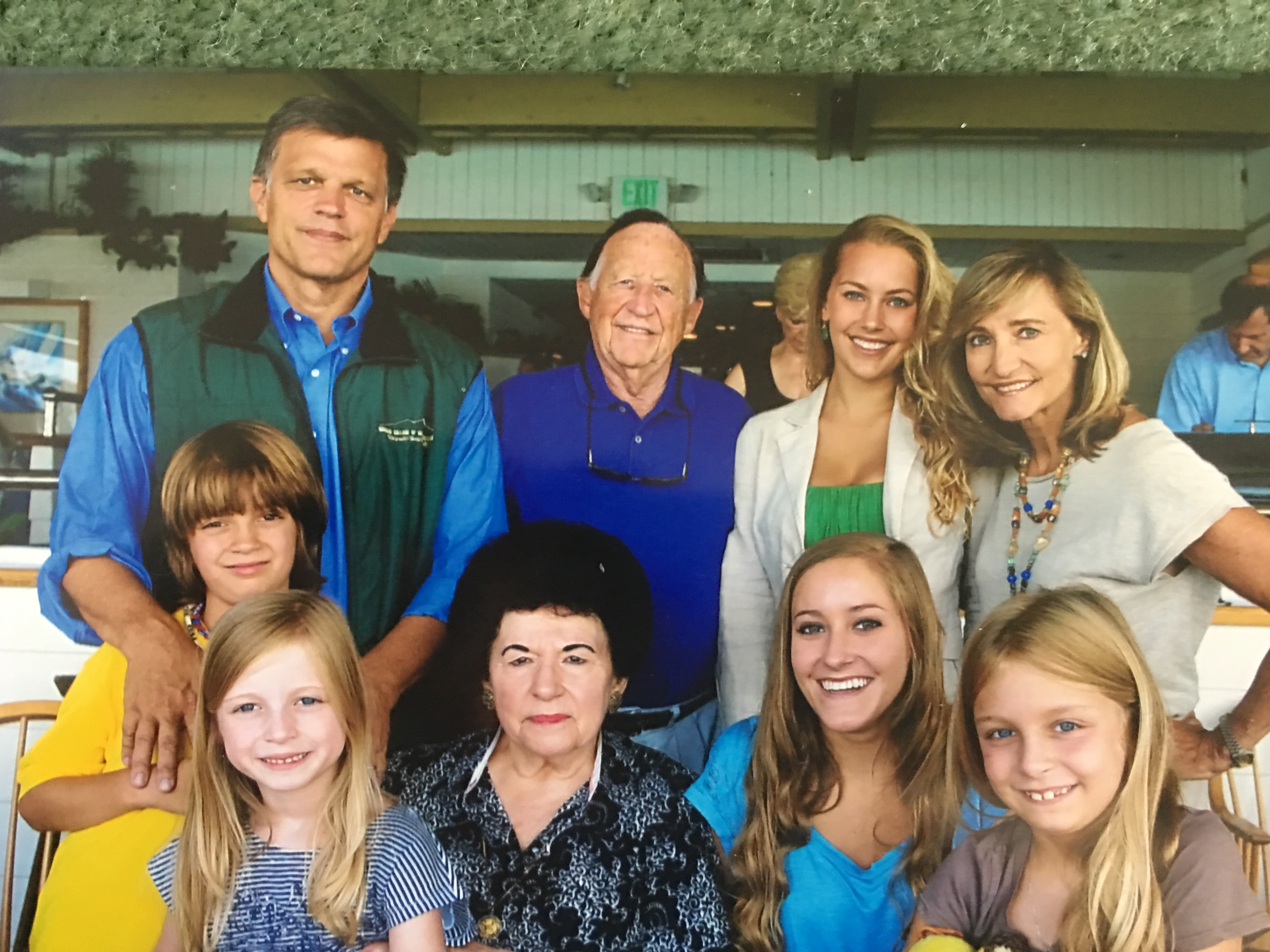 Douglas Brinkley and extended family