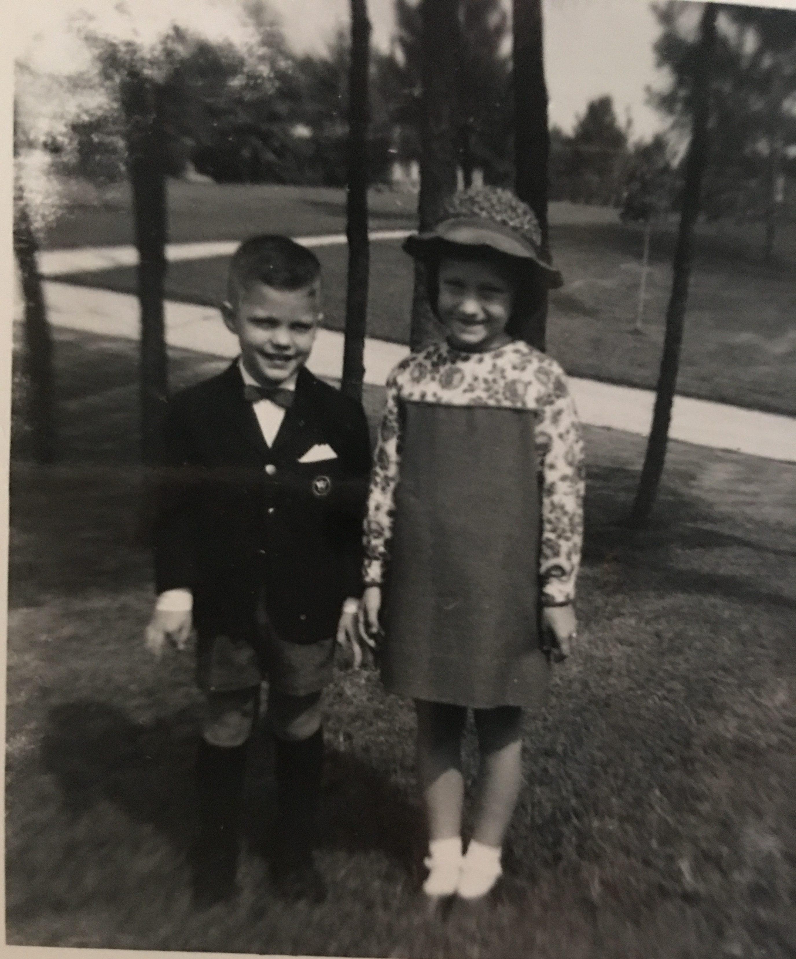 Douglas Brinkley as a young boy