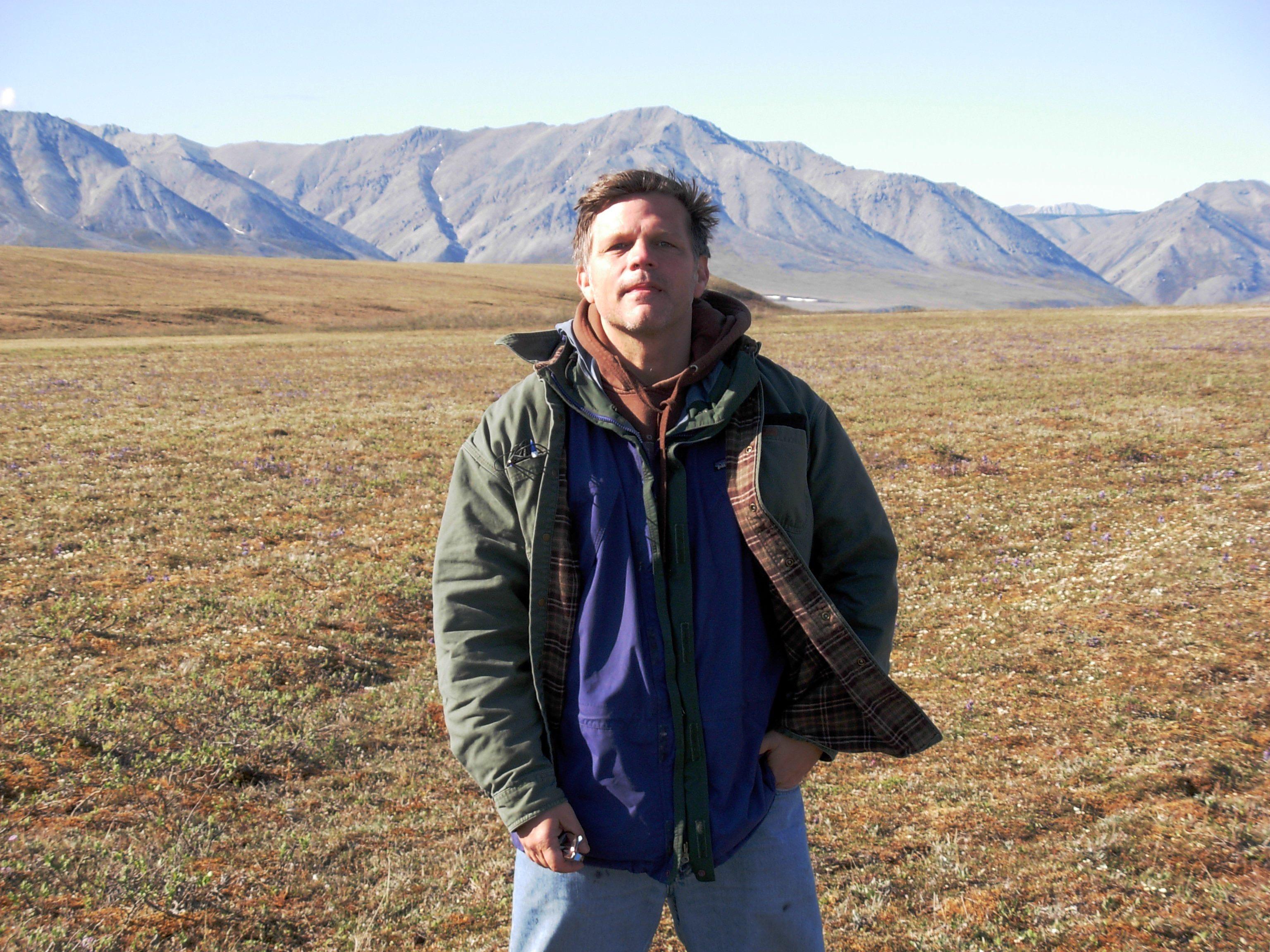 Douglas Brinkley in Alaska