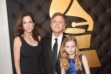 Doug, Anne, and Cassady Brinkley at the Grammys