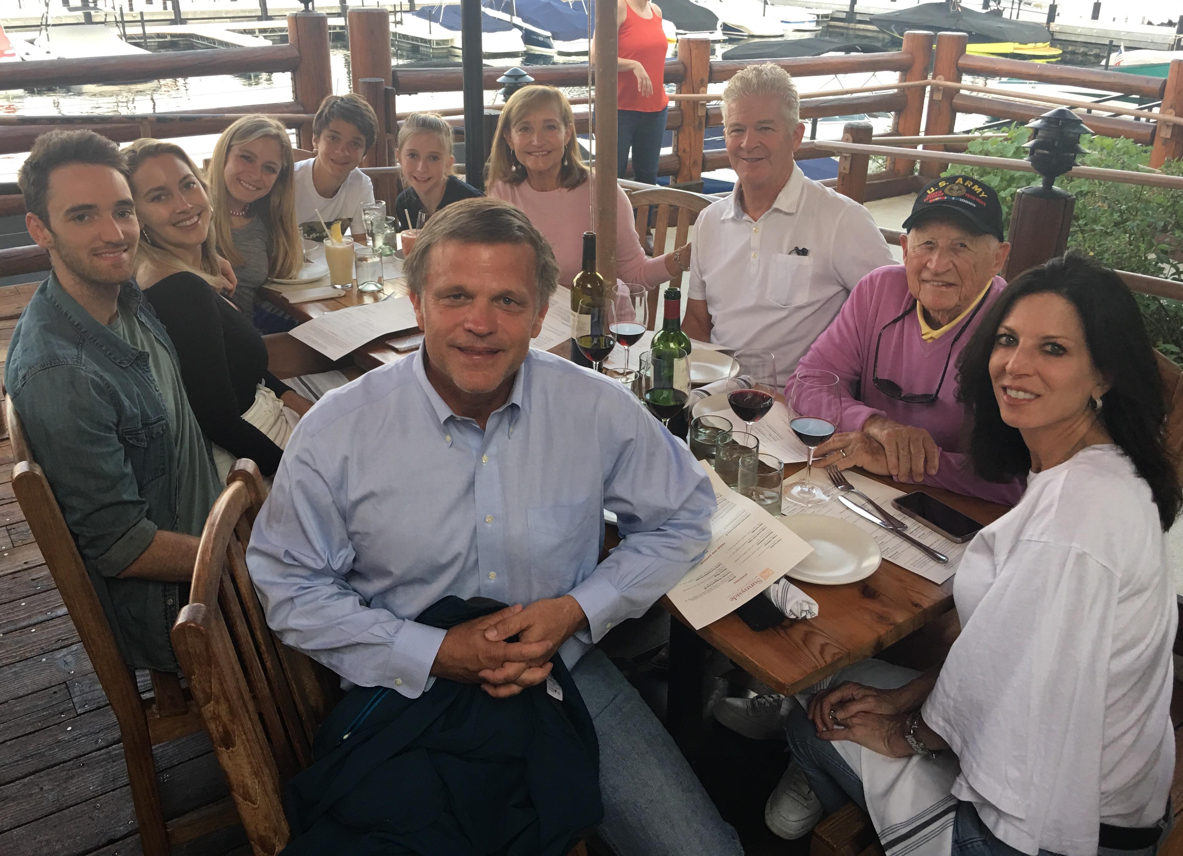 Lake Tahoe 2018 Douglas Brinkley family
