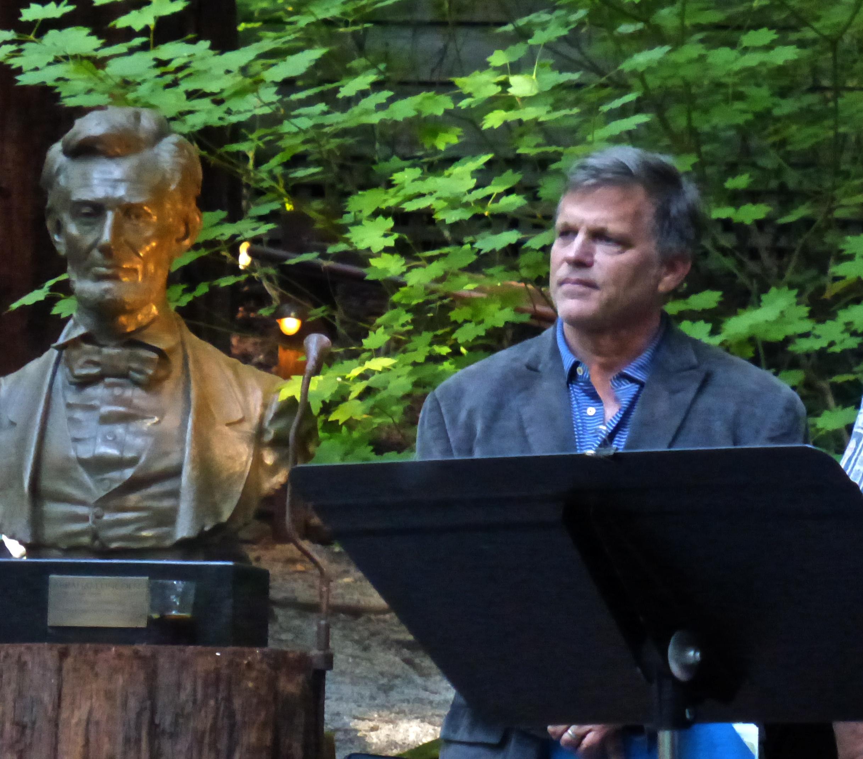 Douglas Brinkley speaking 2018 redwoods