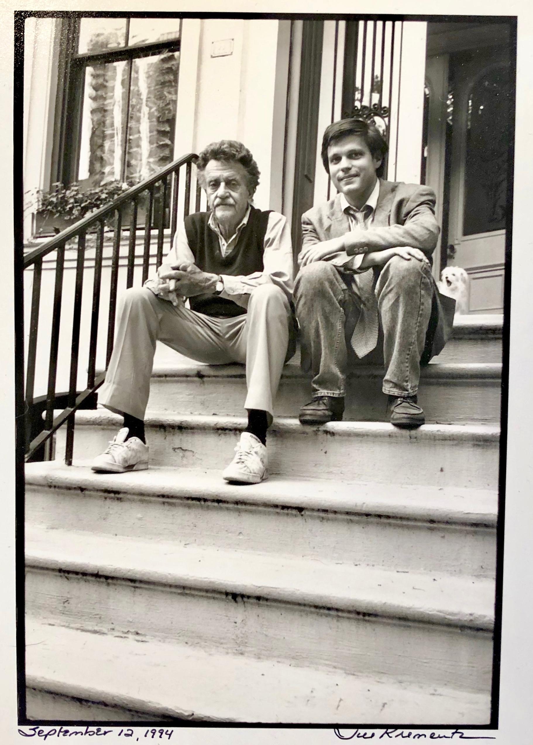 Douglas Brinkley and Kurt Vonnegut 1994