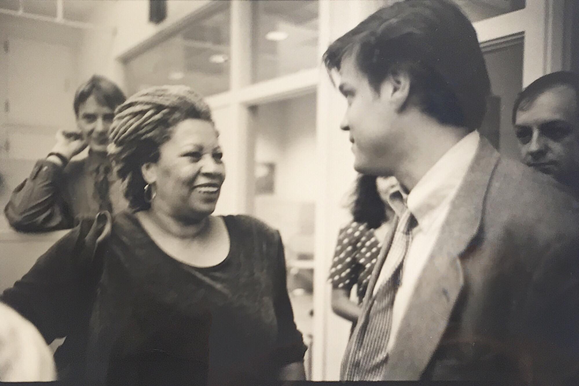 Douglas Brinkley and Toni Morrison