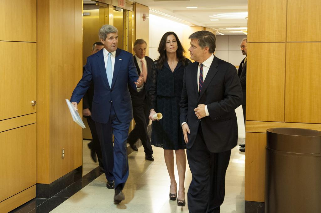 Secretary Kerry Doug Anne Brinkley