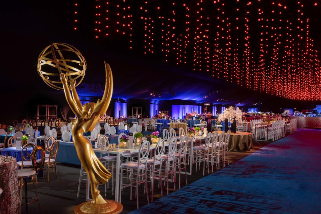 """2018 """"70th Emmys Governors Ball"""". Produced by Sequoia Productions. Photography by Jerry Hayes Photography."""