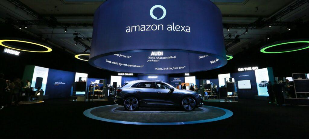 CES 2019 Alexa / AWS (Amazon Web Services) Exhibition Space