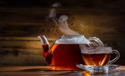 Romantic Tea and Syrup