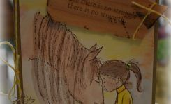 Horse and Girl Stamps Perfect for Ministry!
