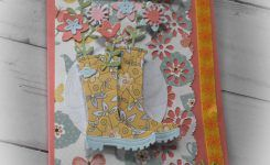 Spring Boots and More Homemade Cards