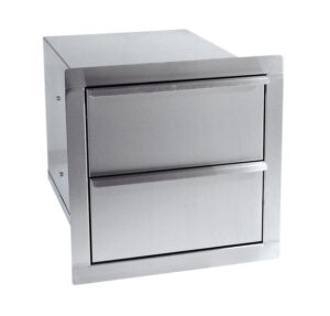 Dragon Fire Double Drawer Built-In Component