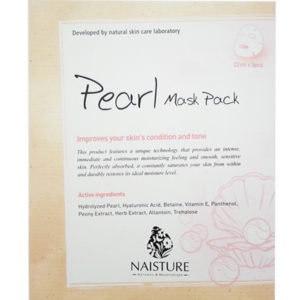 Naisture Cotton Sheet Mask PEARL
