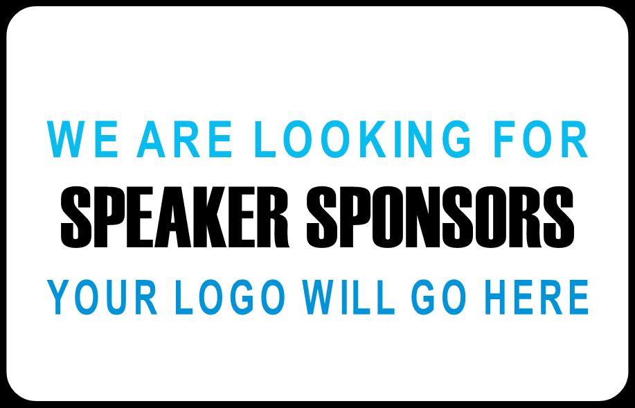 Speaker Sponsors