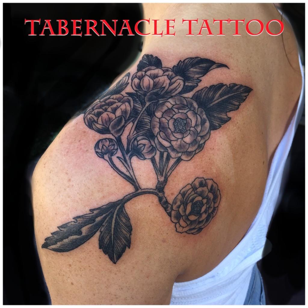 Botany tattoo design