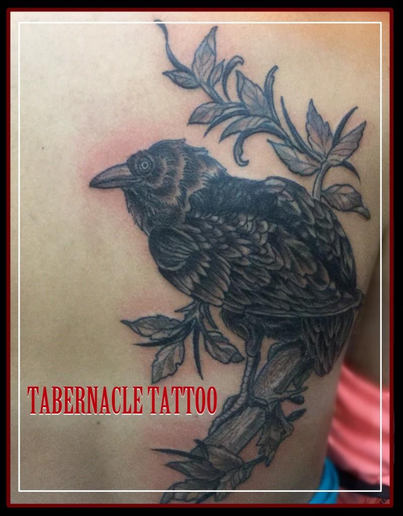 Black and grey tattoo Tampa Florida
