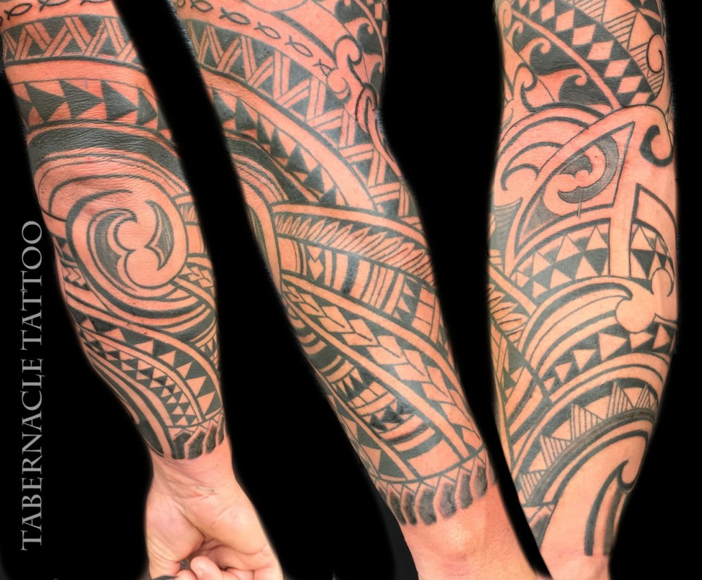 Polyneisan tattoo artist Tampa Florida