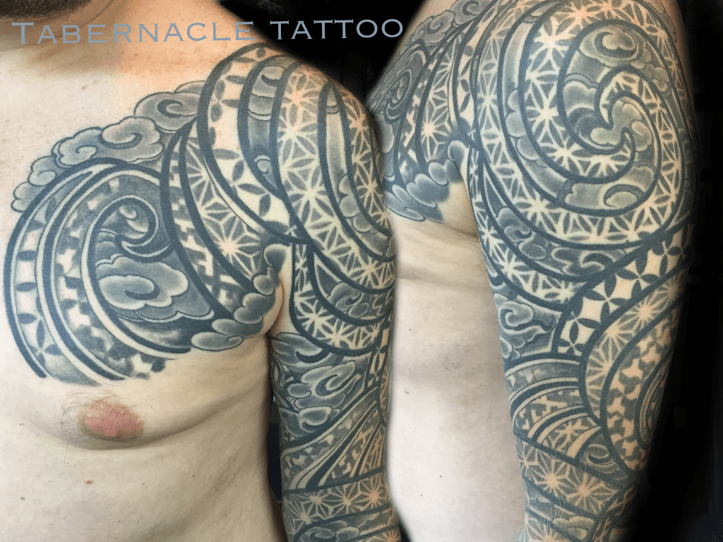 Geometric tattoo & Polynesian tattoo designs
