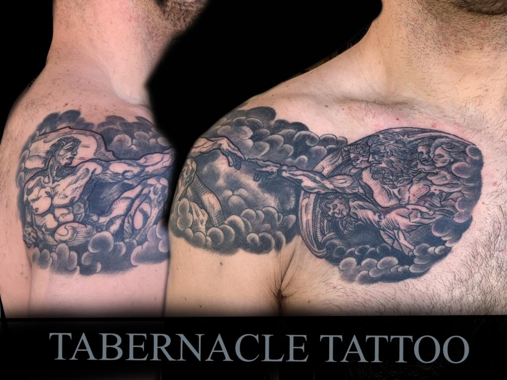 Michaelanglo's David tattoo