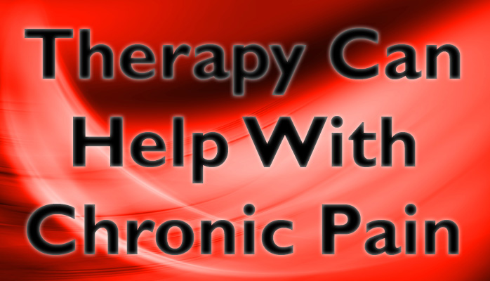 How Therapy Helps You Deal with Chronic Pain