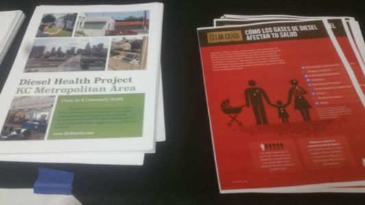 Diesel Health Project handouts