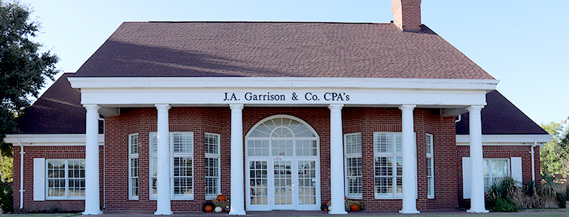 J.A. Garrison & Co. CPA's Provide all Accounting Services.