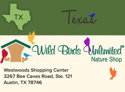Wild Birds Unlimited | Texas