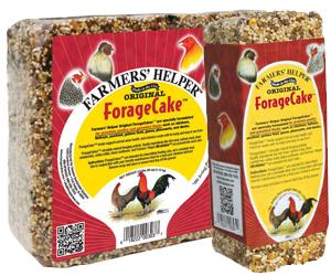 2.5 lb. Original ForageCake from Farmers' Helper