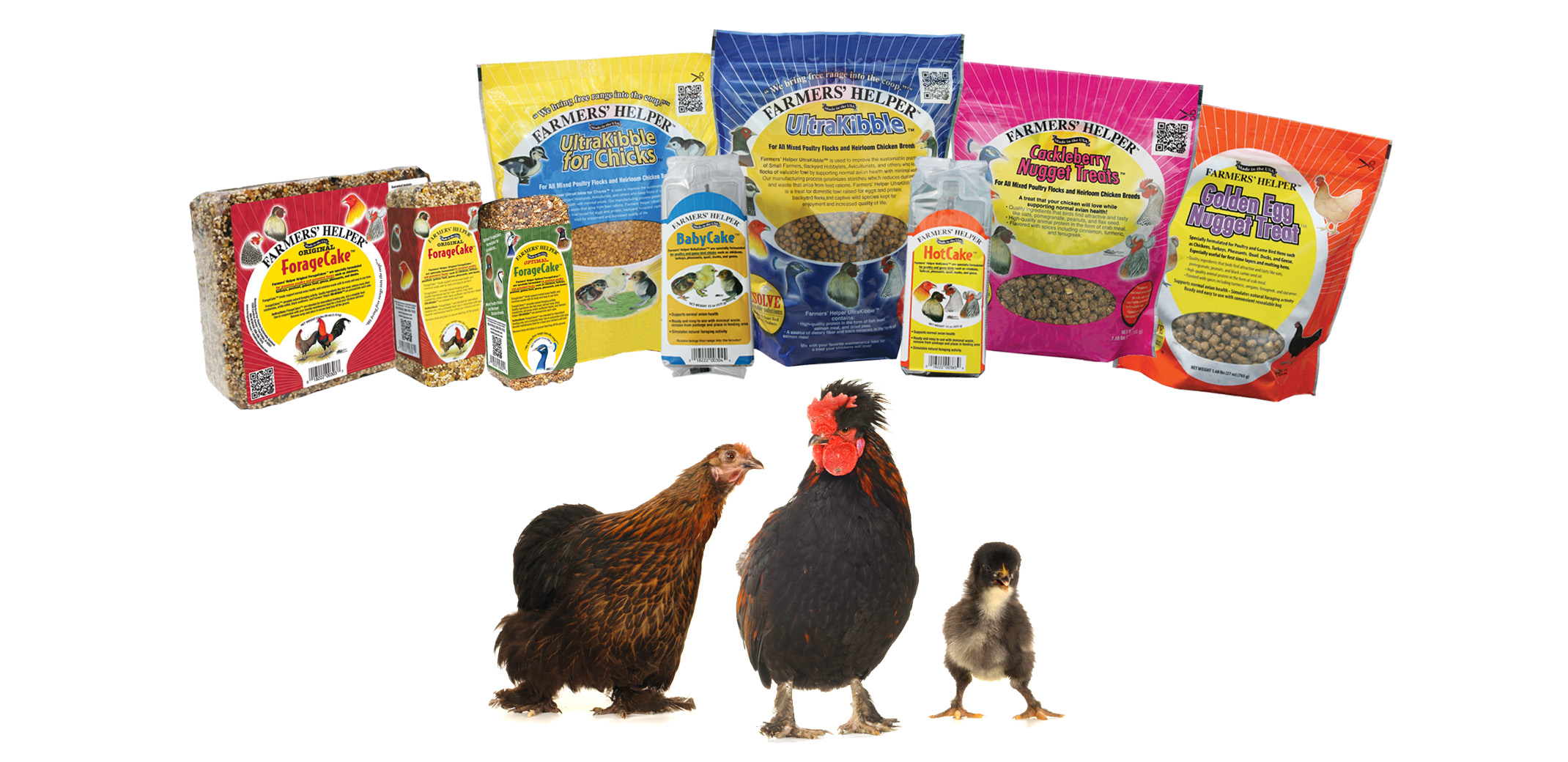 Fartmers' Helper Supplemental Feeding Products