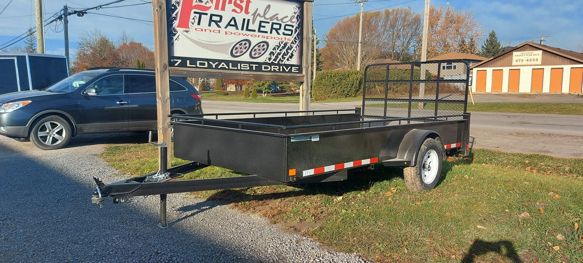 2020 CANADA TRAILER 6X12 STEEL SIDE UTILITY