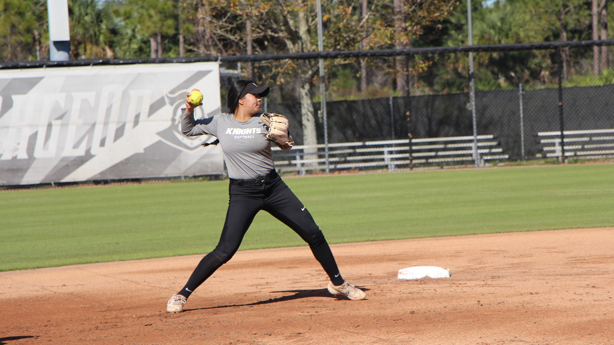 Knights Softball Holds First Spring Practice of 2020