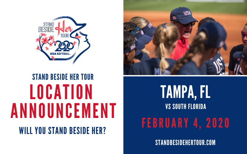 """BULLS HOST TEAM USA IN """"STAND BESIDE HER"""" TOUR KICKOFF"""