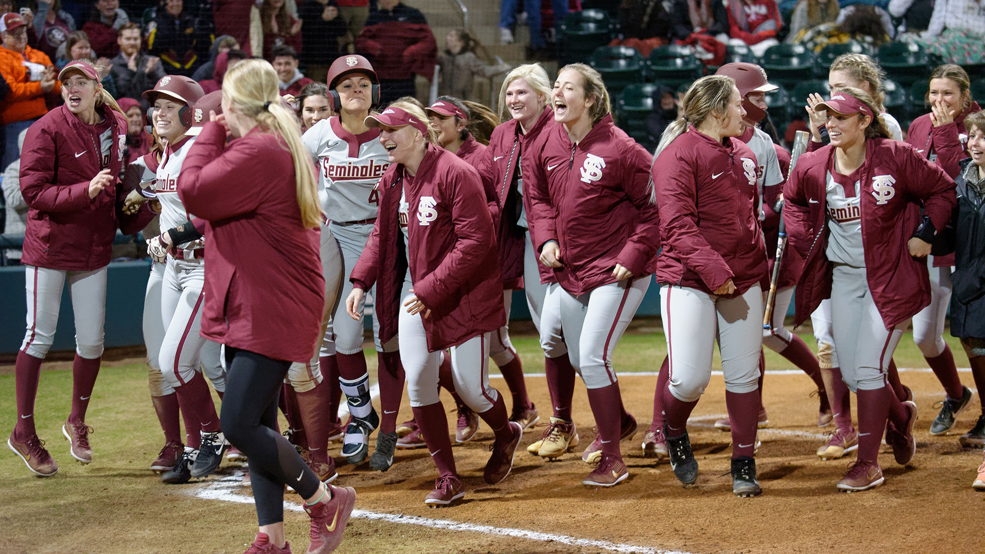 Florida State softball vs Southern Miss Has Been Postponed due to weather