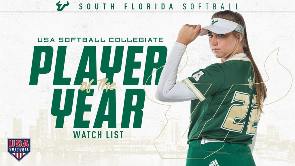 USF'S CORRICK NAMED TO USA SOFTBALL'S COLLEGIATE PLAYER OF THE YEAR WATCH LIST