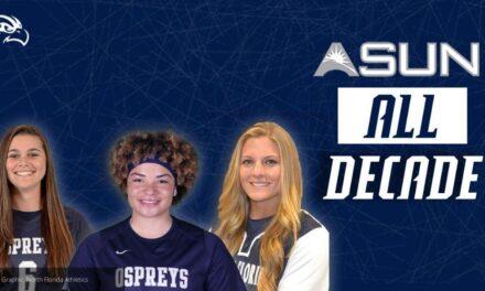 Three OSPREYS Named to ASUN Softball All-Decade Team